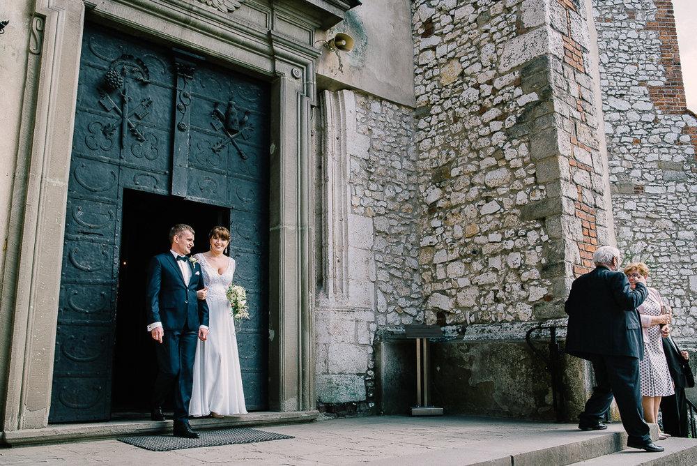 Ślub na krakowskim Tyńcu