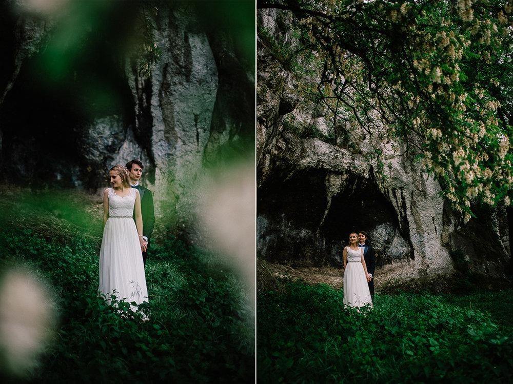 Plener ślubny w Tyńcu