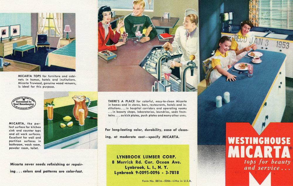 Westinghouse Micarta Ad