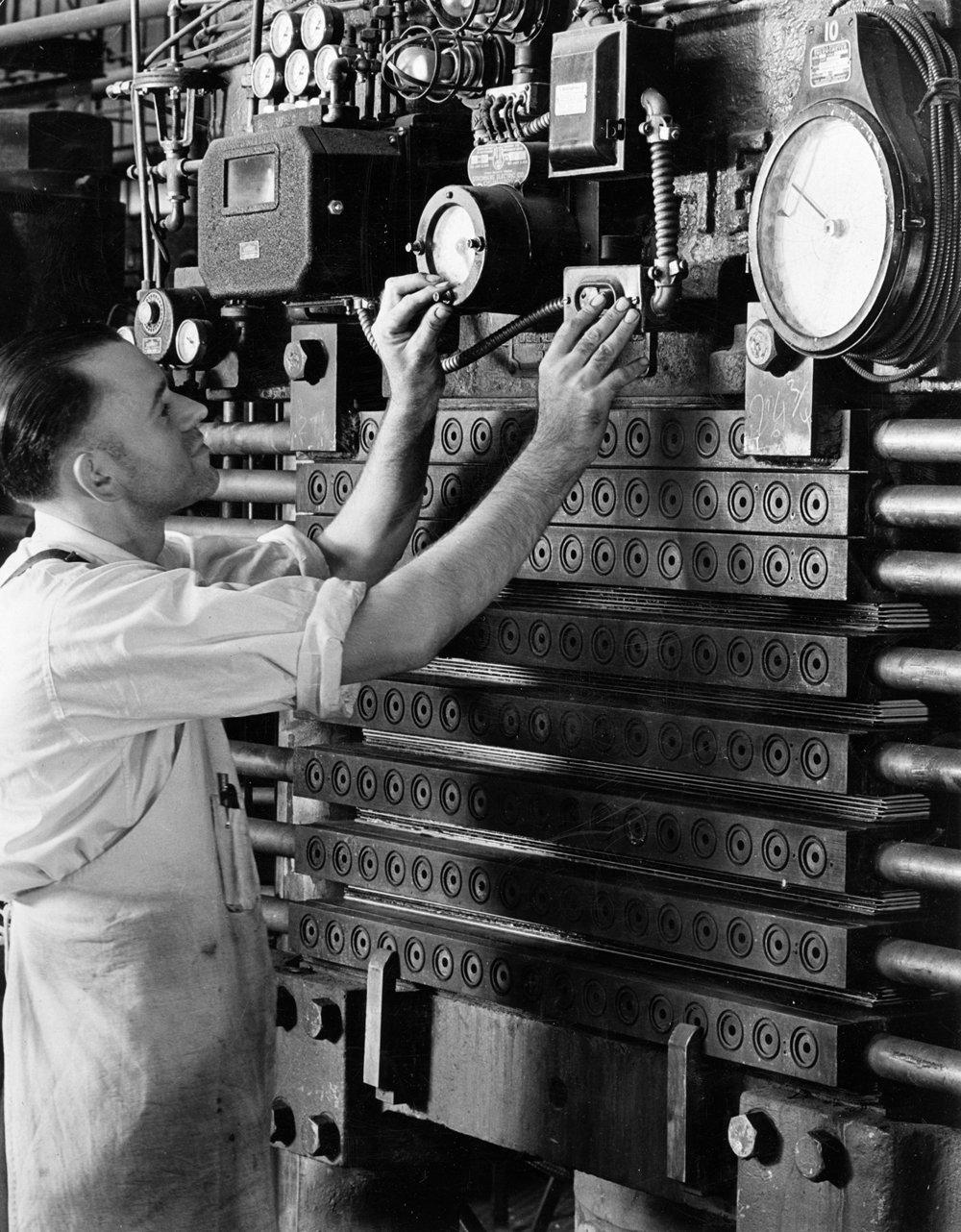Westinghouse Micarta Press