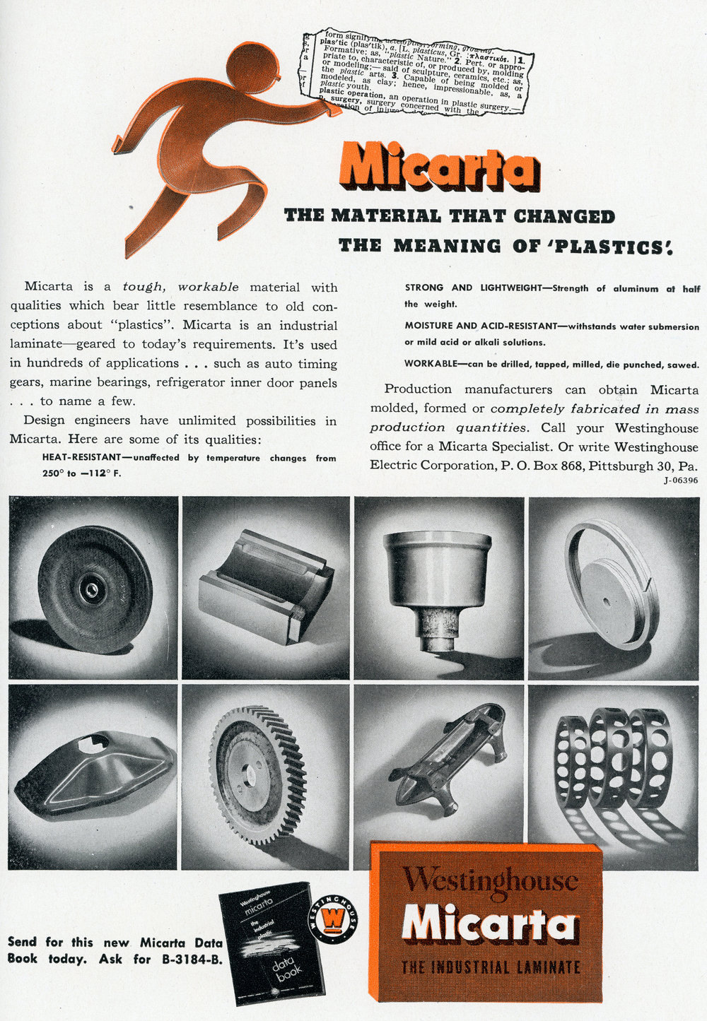 Material That Changed the Meaning of Plastics - Westinghouse Micarta