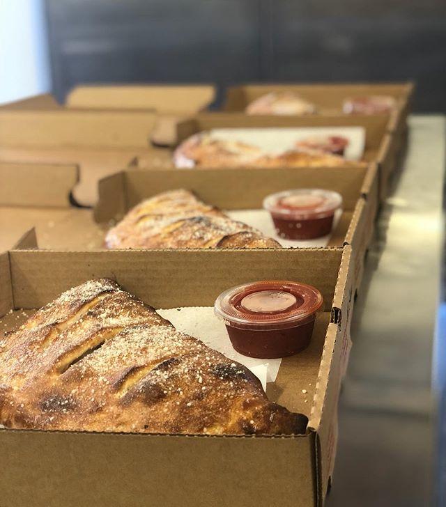 Stromboli Saturday! #thejunctionpizza #mtpleasantpa #bestpizzaintown #eeeeeats #pizzaporn #foodporn #foodie #🍕 #stromboli