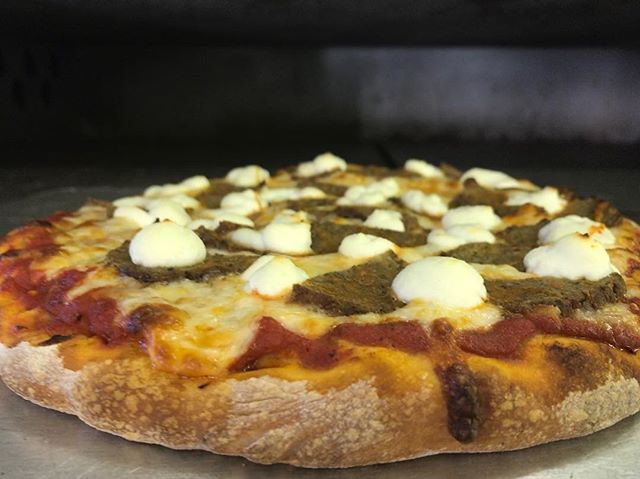 Keep the house cool; order The Junction Pizza instead of cooking! . . . #thejunctionpizza #mtpleasantpa #meatballricotta #🍕#bestpizzaintown #pizzaporn #pizzagoals #bakerspride #eeeeeats #foodie #foodaholic #foodporn #foodgasm #pizzapizza