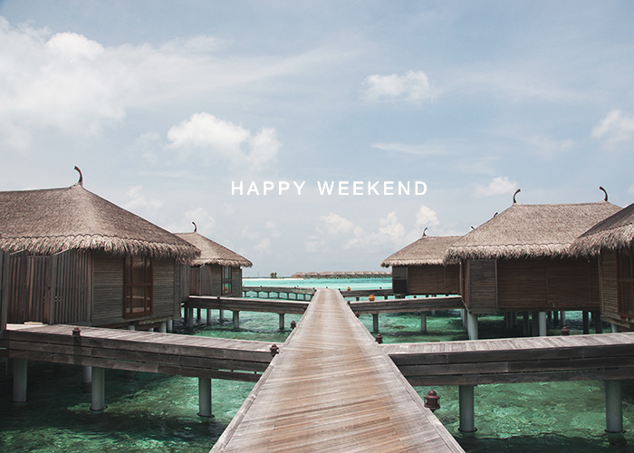 Happy Weekend 26 September 2014 Maldives / Renae Smith