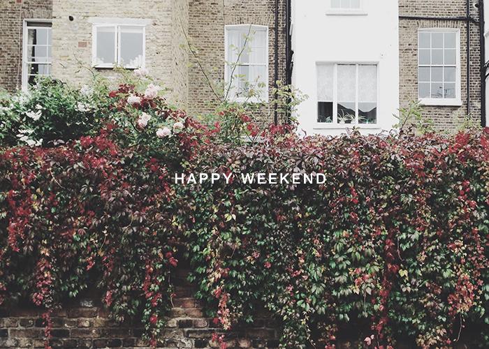 Happy Weekend October 17 London, UK / Renae Smith