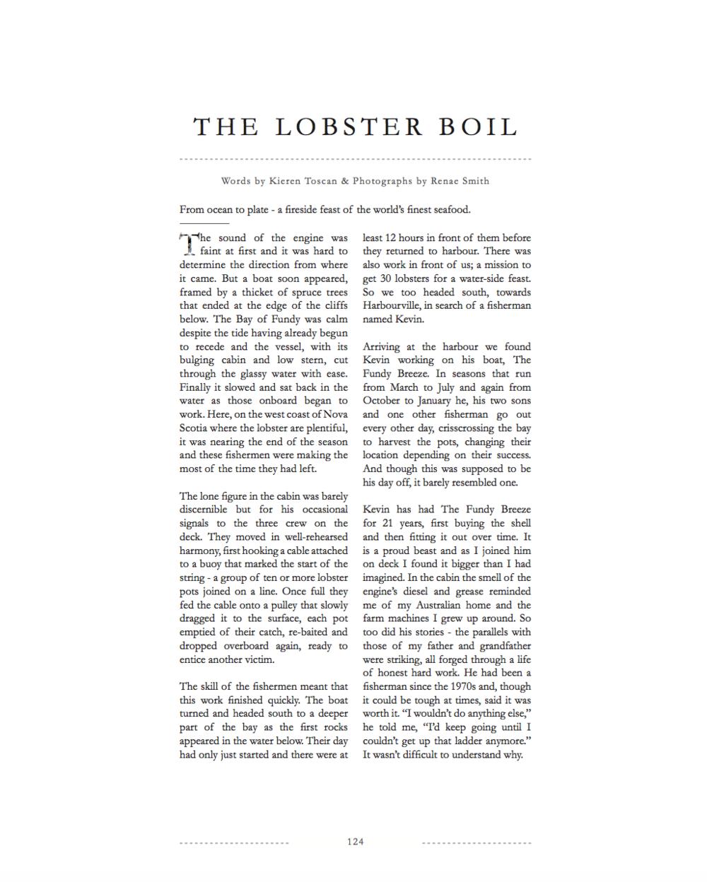 Lodestars Anthology Magazine - Issue 6, Canada © Renae Smith