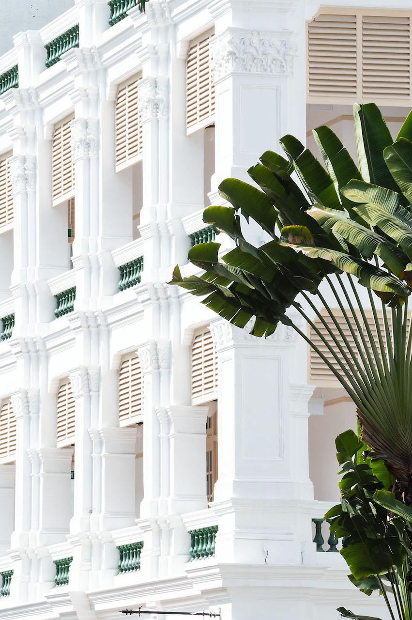 Raffles Hotel Singapore (details) © Renae Smith
