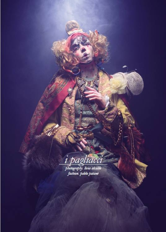 "Schon Magazine 27th issue "" IPagliacci"""