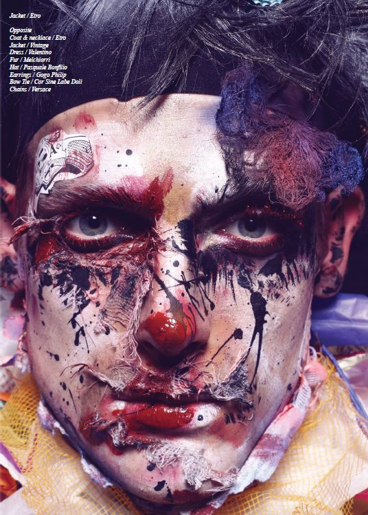 """Schon Magazine 27th issue """" I Pagliacci"""""""