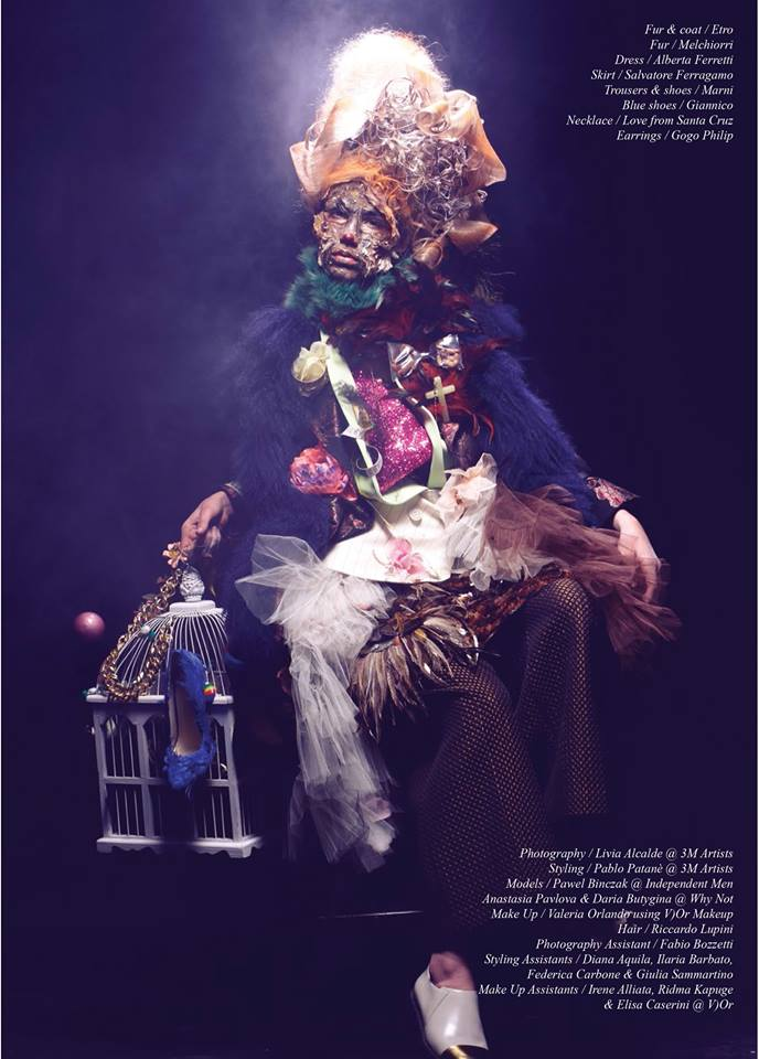 "Schon Magazine 27th issue "" I Pagliacci"""