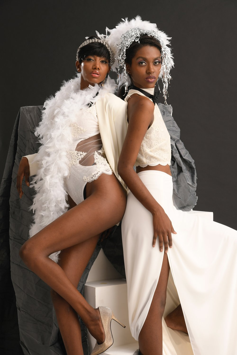 """Shades of Love"" Editorial for The Backstage Collections Haute Couture"
