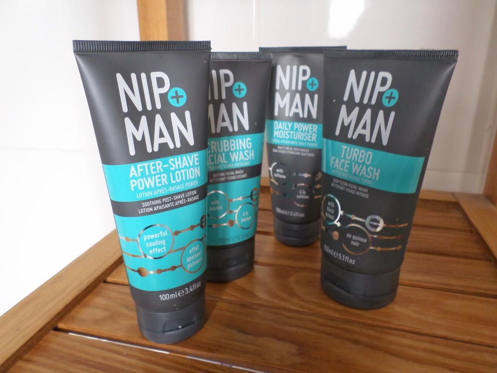 Nip + Man Skincare for man: Complete range