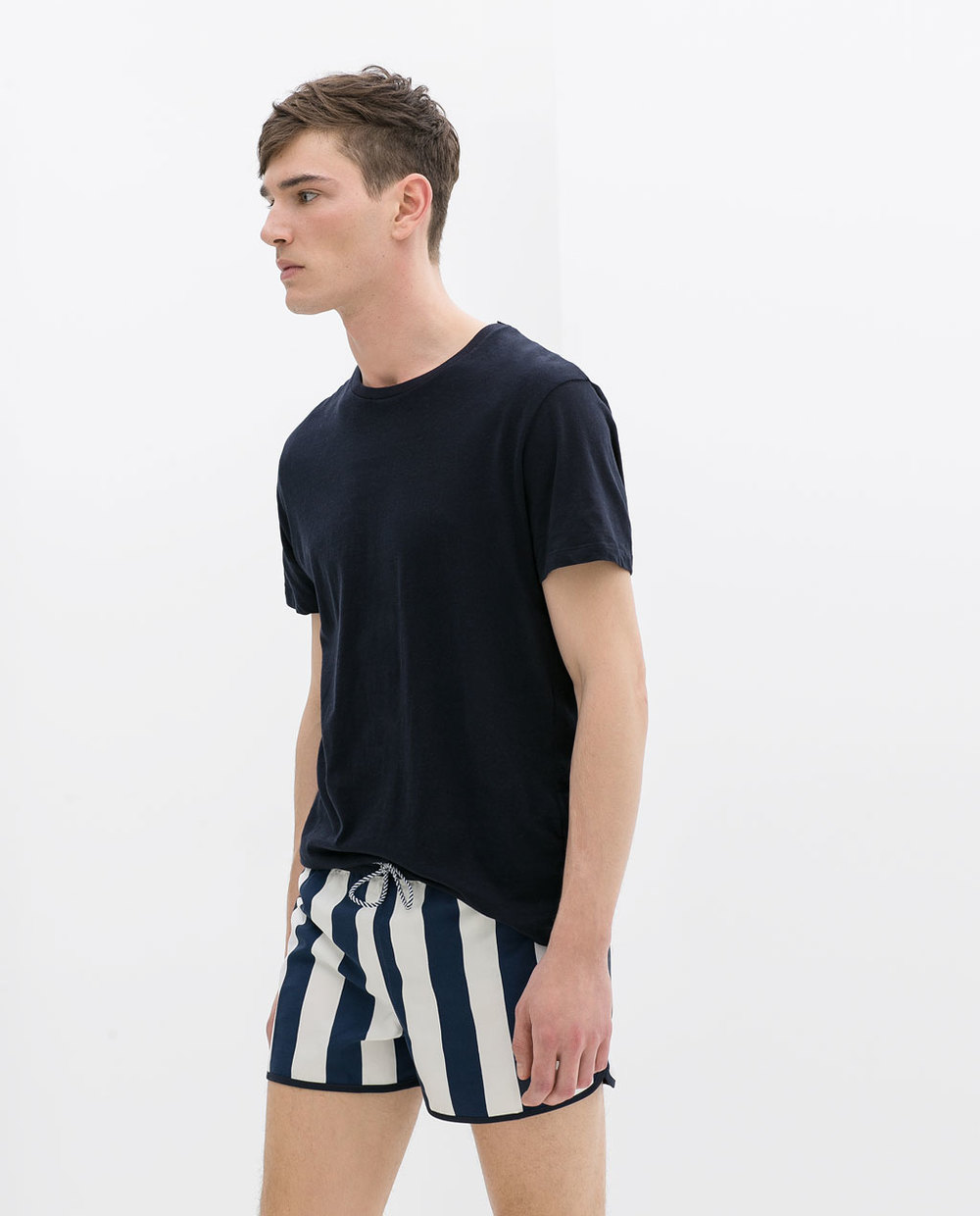 Striped Swim Shorts: ZARA £12.99