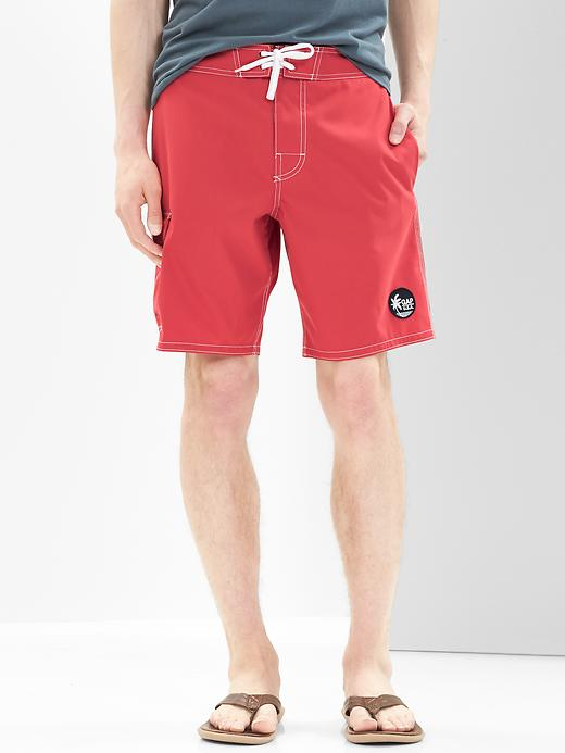 Cargo pocket boardshorts. GAP: £22.95