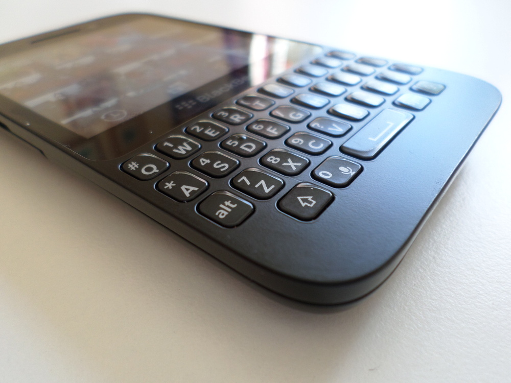 Blackberry Q5- Great keyboard.