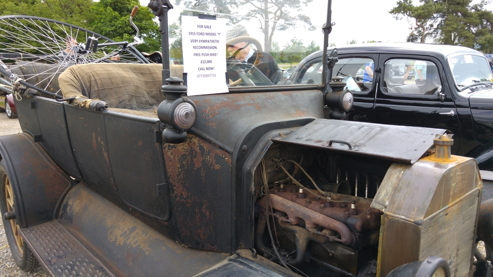 FORD T 1915 at the 36th Bristol Classic Car Show