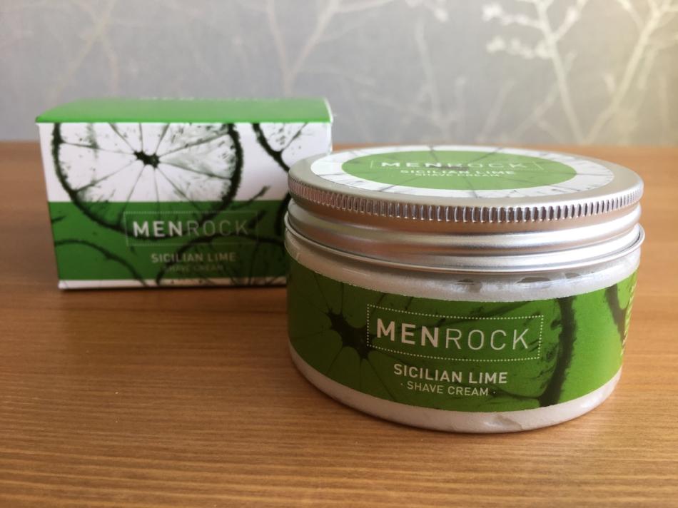 MenRock Sicilian Lime Shave Cream