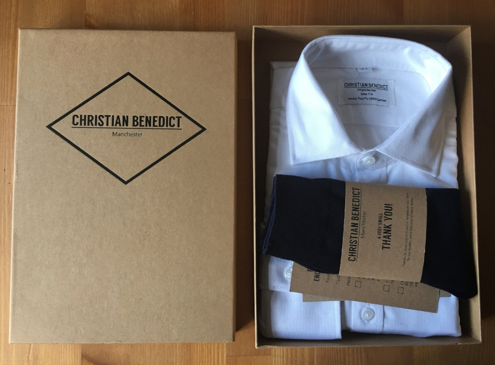 Christian Benedict Shirt Inside the box