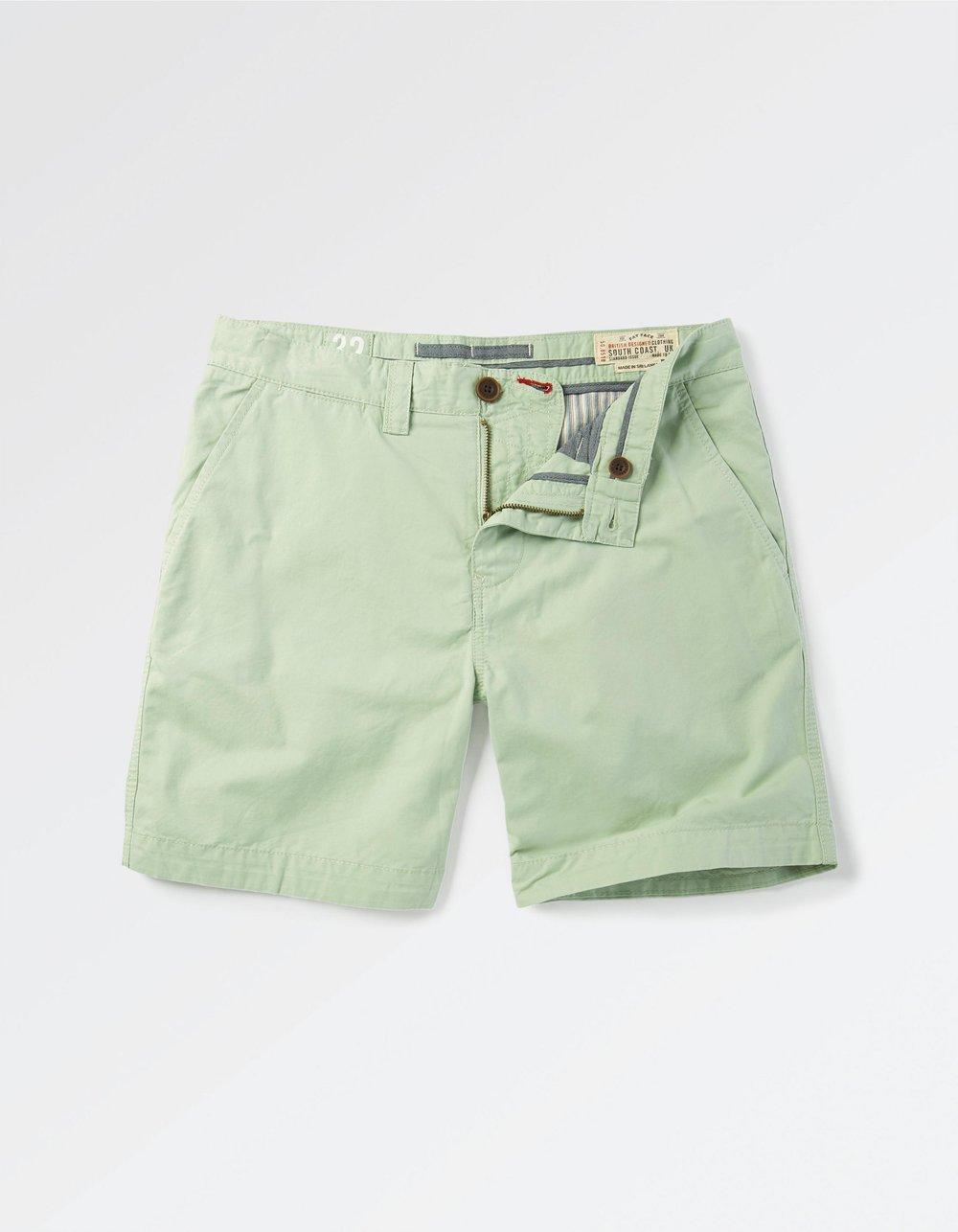 Pale Jade Newport Chino Short -