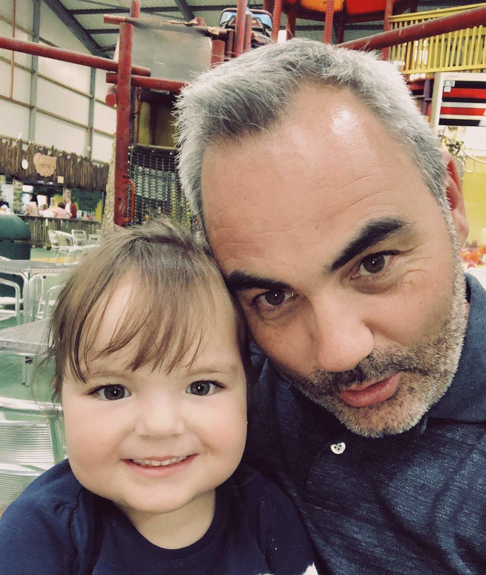Me & my daughter: Elia.