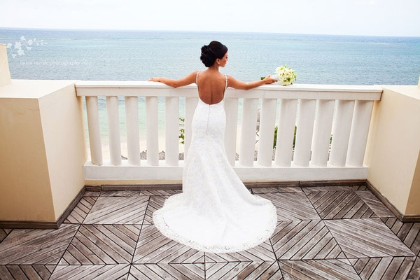 Wedding at Iberostar Rose Hall Grand. Photo by Laura Novak.