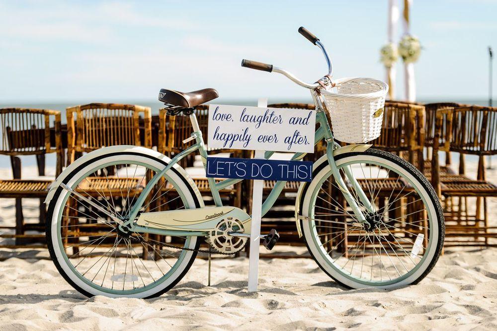a - Ocean Club Hotel Wedding - Bike on Beach.jpg