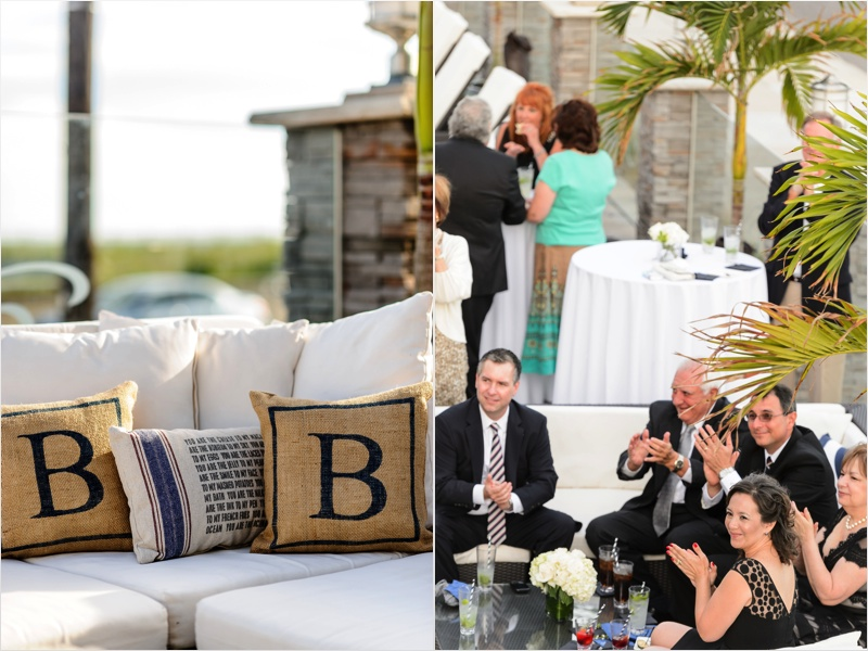 a - Ocean Club Hotel Wedding - cocktail hour - guests + couch.jpg