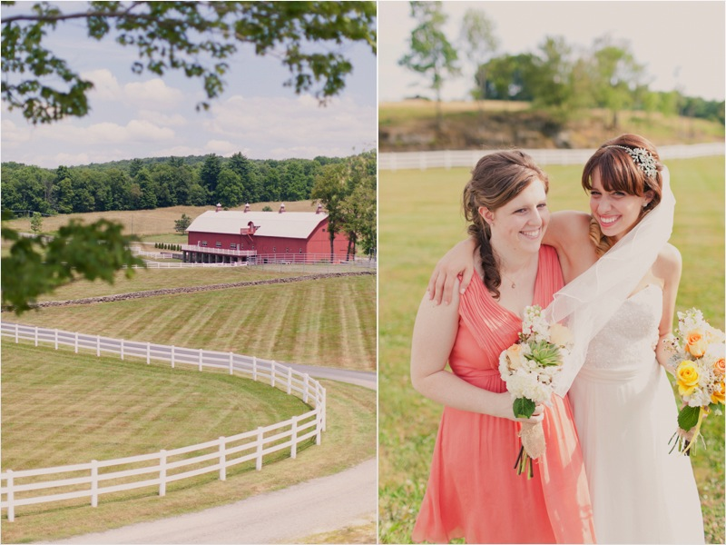a - Friedman Farms Wedding - caitlin - bride+bridesmaid + venue shot collage.jpg