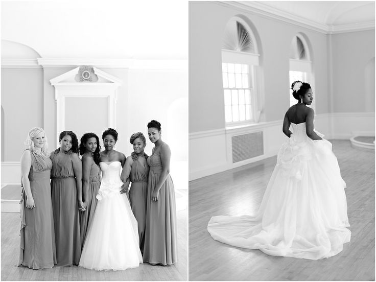 a - Free Library of Philadelphia Wedding -  portraits bride group collage.jpg