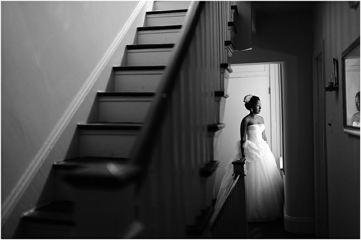 a - Free Library of Philadelphia Wedding - portrait bride bw.jpg