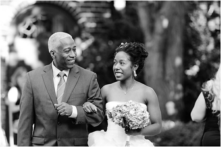 a - Free Library of Philadelphia Wedding - ceremony - Bride + Father Processional.jpg