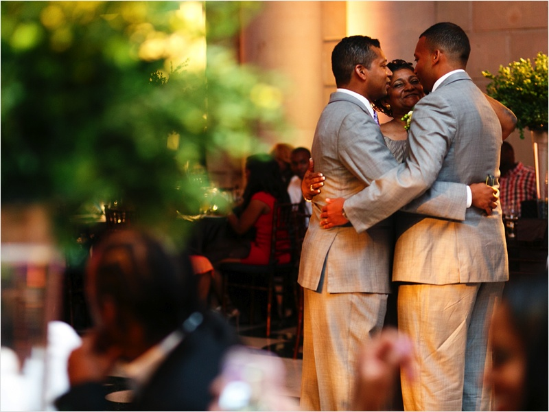 a - Free Library of Philadelphia Wedding - reception groom mother dance.jpg