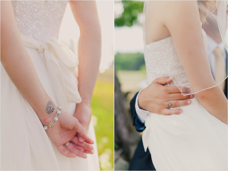 Friedman Farms Wedding - tattoos
