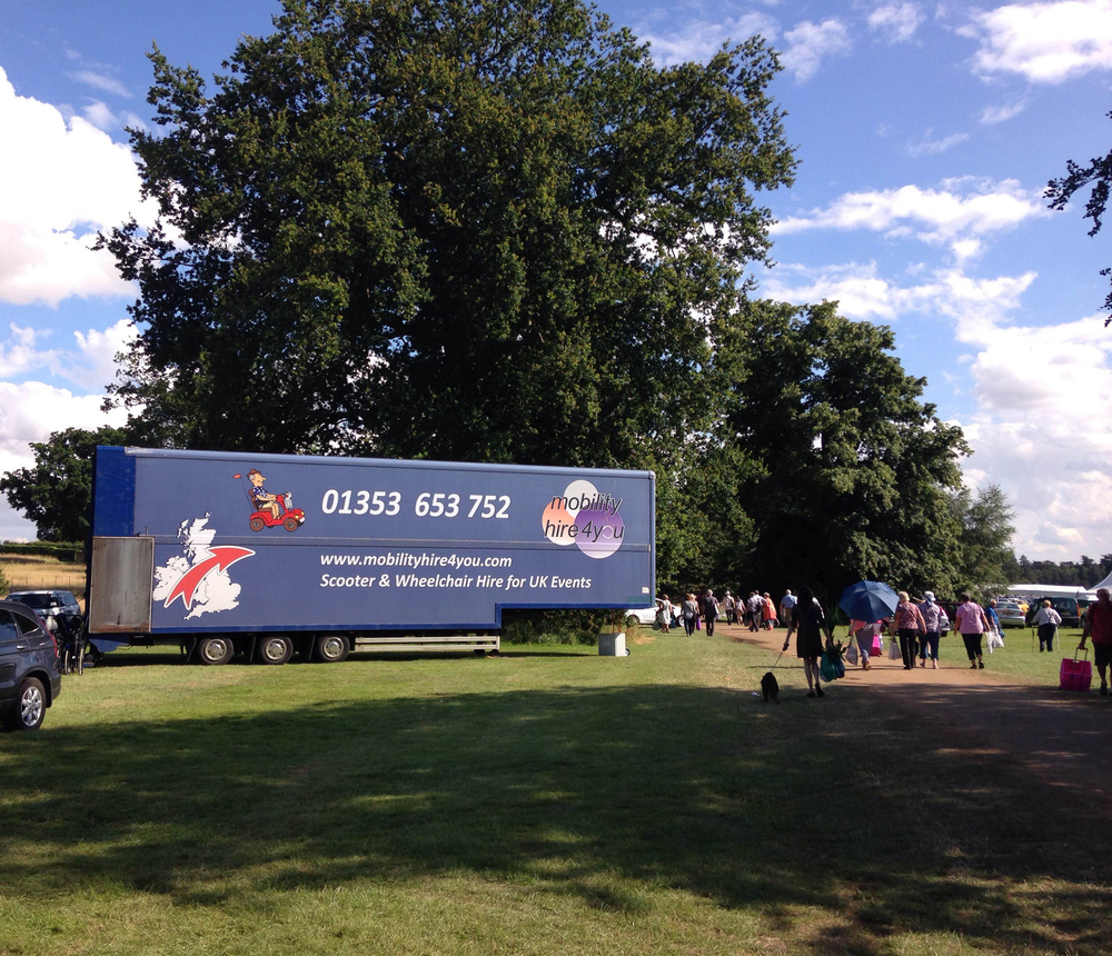 MobilityHire4U Sandringham Flower Show 16 Suns Out.jpg