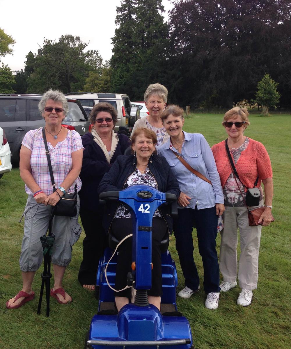 Sandringham Flower Show 16MobilityHire4U Customers.jpg
