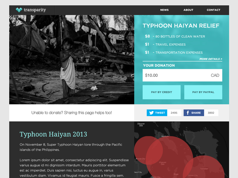 Blog: Redesigning the Donations Page