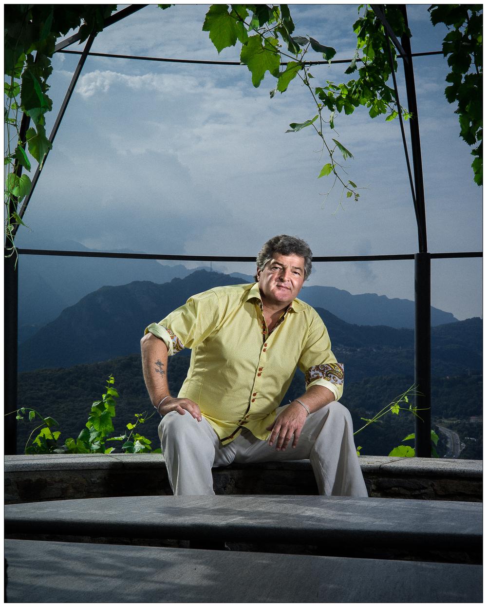 Ivo Monti, vigneron