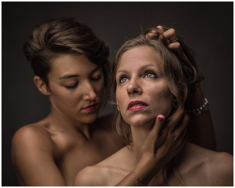 Ava O. et Lauranne