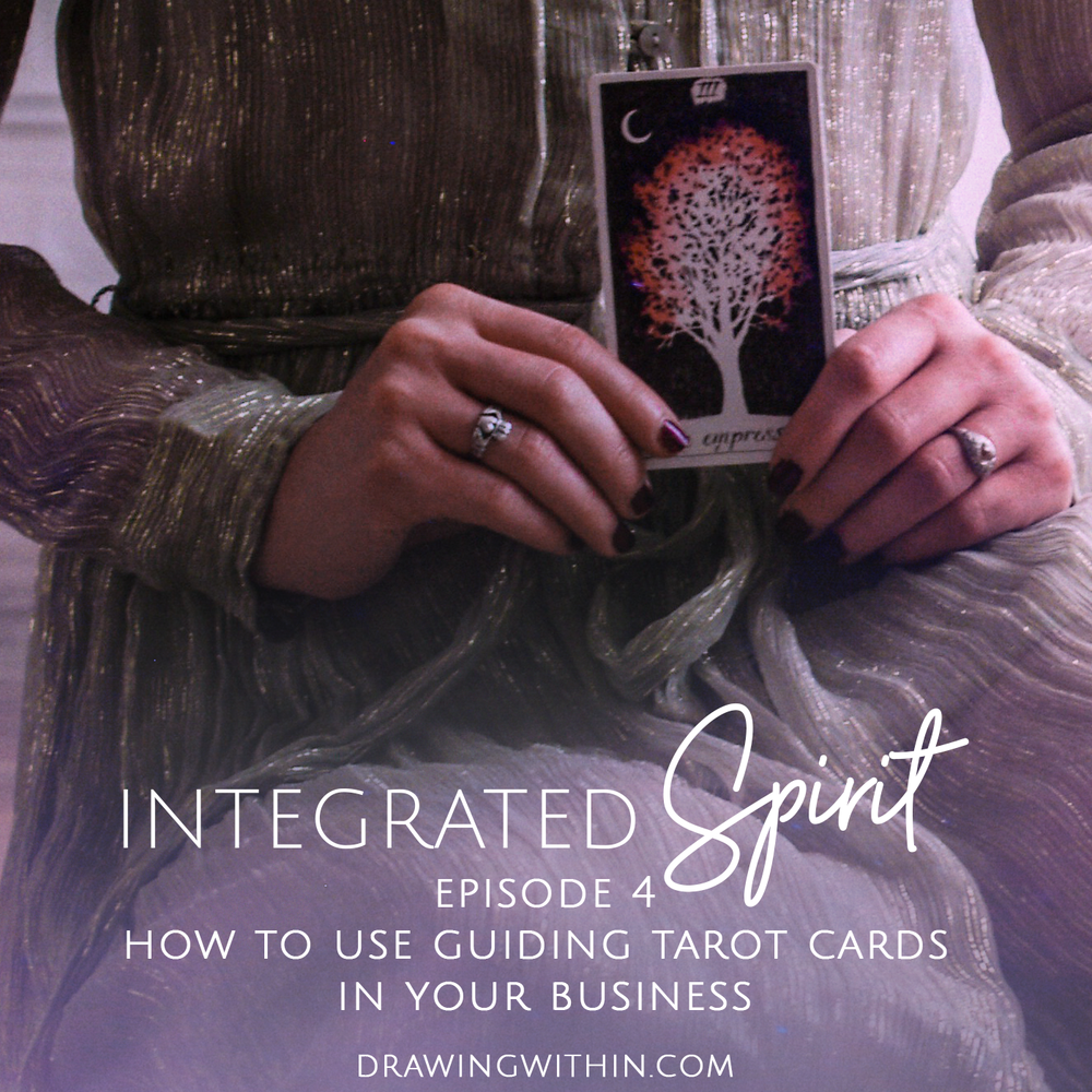 Episode [4]: Using guiding cards from the Tarot to lead you forward ...