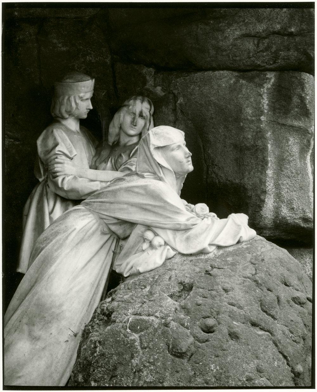 Statue to Julius Zeyer, Silver Gelatin Print, Prague 2016