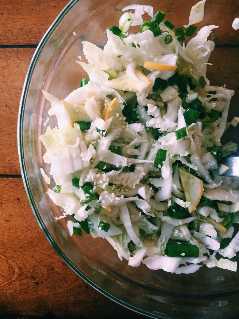 Asian Style Cabbage Slaw