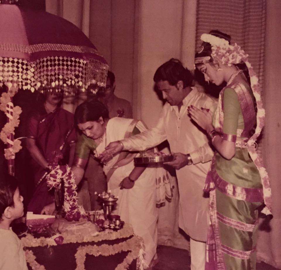 Arangetram Performance Puja - 1987