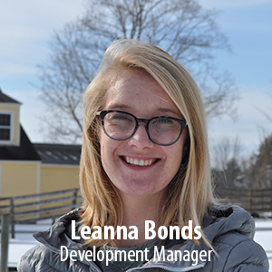 Development Manager  (Portland, ME) MS (2016) Ecological Teaching and Learning from Lesley University. BA (2014) in Integrated Educational Studies from Chapman University. Growing up in the Rocky Mountains, hiking, backpacking, and camping have fueled Leanna's passion for the outdoors. Leanna has worked with a variety of kids in many different learning environments including on horses, in classrooms, and at the Museum of Science in Boston, MA. When she's not traveling or exploring mountains she is often chatting with good friends over coffee.