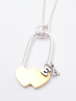 Personalised Lovelock Pendant