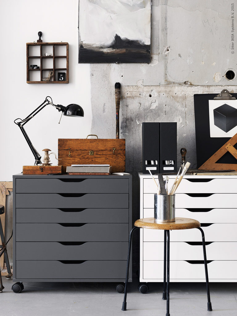 Storage inspiration, Ikea. Image from Pinterest.