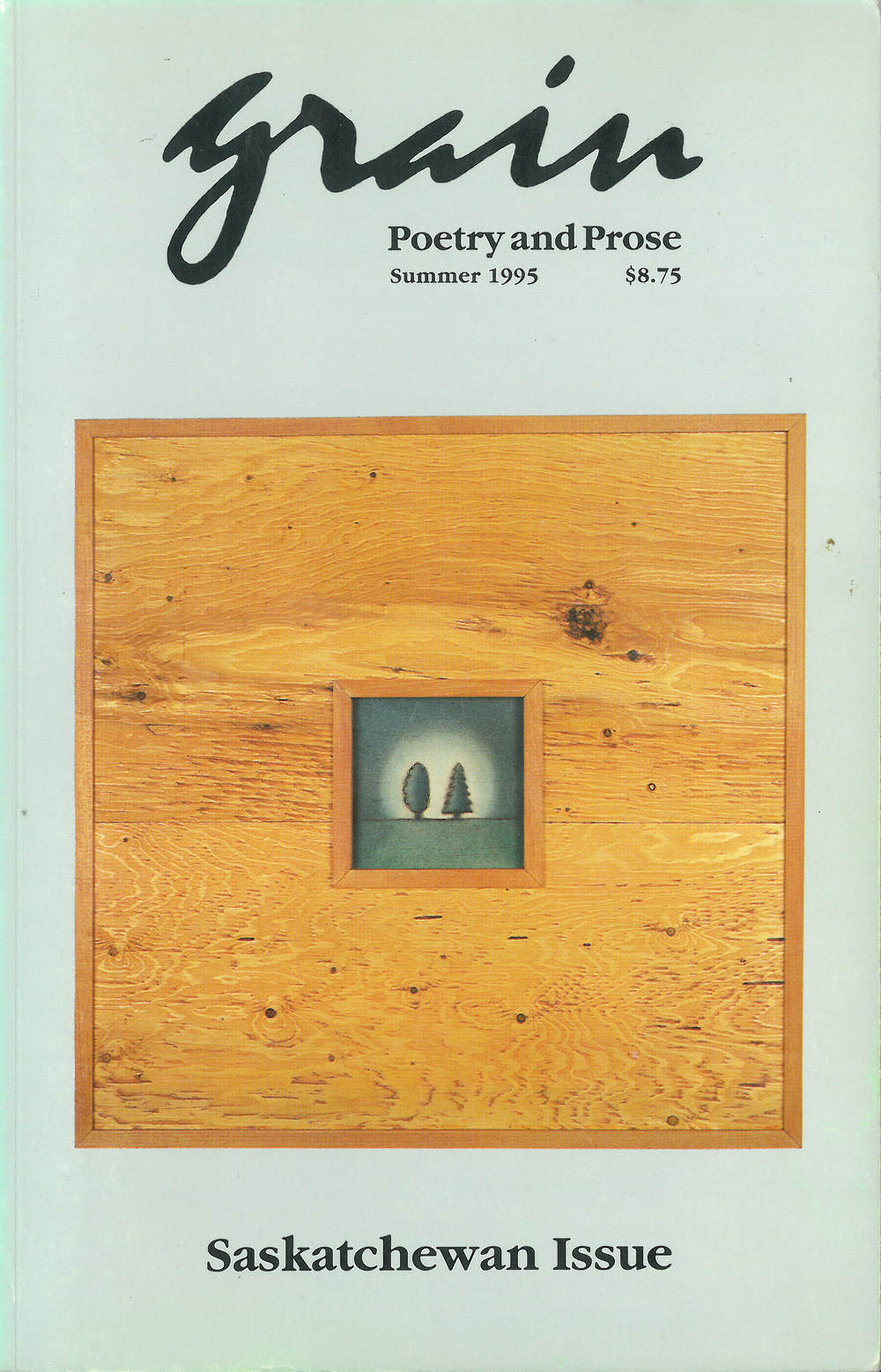 23.1 Summer 1995, Saskatchewan Issue