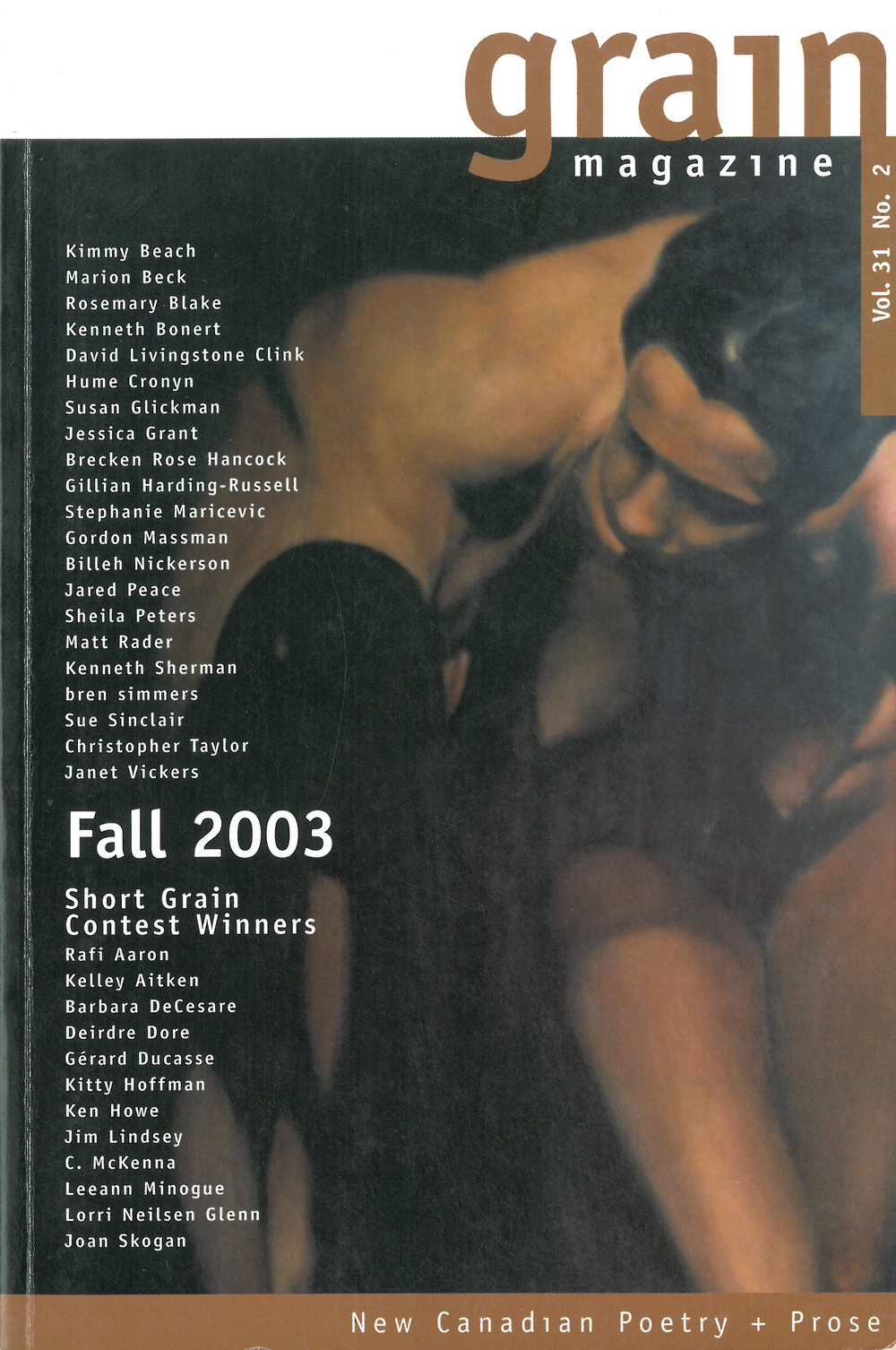 31.2 Fall 2003, Contest Winners
