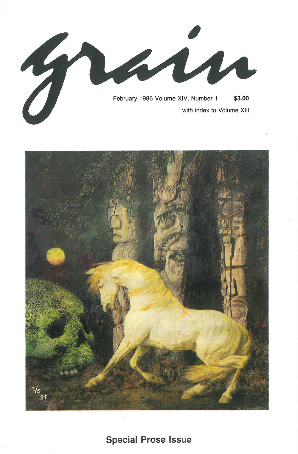 14.1 February 1986, Special Prose Issue