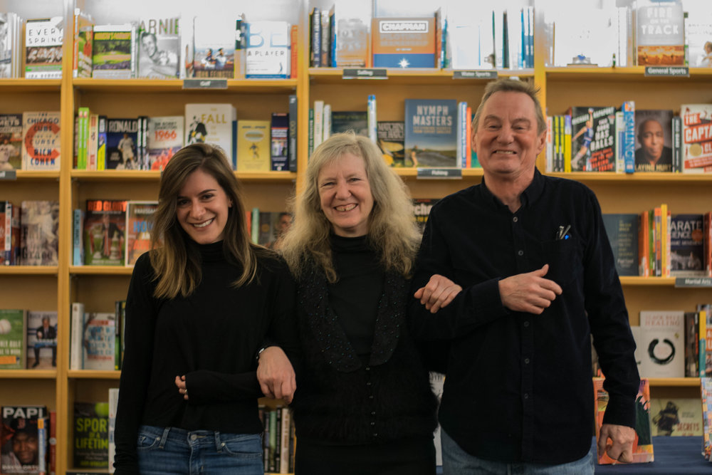 Grain 's new editorial team: Nicole Haldoupis (Editor), dee Hobsbawn-Smith (Associate Poetry Editor), and Terry Jordan (Associate Fiction and Nonfiction Editor)