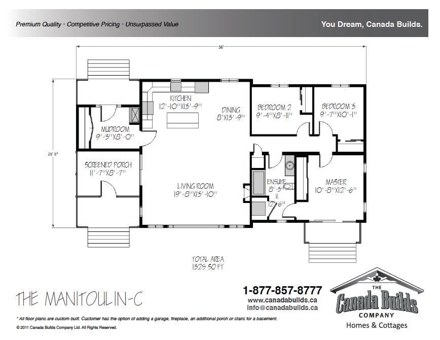 Bungalow Canada Builds Custom Modular Homes Ontario
